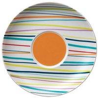 """Cappuccino-Untertasse 16,5 cm """"Sunny Day Sunny Stripes"""" bunt"""