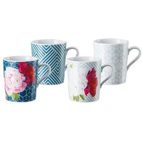 Becher m.H. Set 4-tlg. Tric Vivid Bloom Mixed
