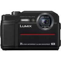 'Panasonic Lumix Dmc Ts7 Digital Cameras - Black