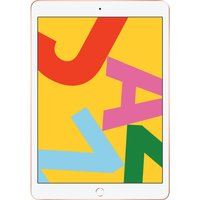 Apple iPad 10.2 (2019) 128GB Wifi - Gold [with 1 year official Apple Warranty]