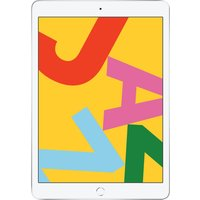 Apple iPad 10.2 (2019) 128GB Wifi - White Silver [with 1 year official Apple Warranty]