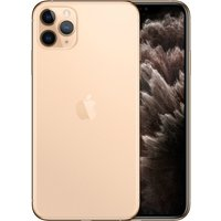 Apple iPhone 11 Pro Max 256GB A2220 Dual Sim with Tempered Glass Screen Protector - Gold