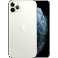 Apple iPhone 11 Pro Max 64GB A2220 Dual Sim with Tempered Glass Screen Protector - Silver