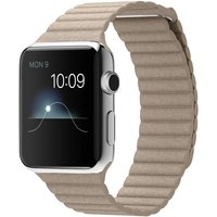 Apple Watch Mj442 42mm Stainless Steel Case With Stone Leather(large)