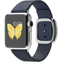 Apple Watch Mj332 38mm Stainless Steel Case With Blue Modern Buckle(small)