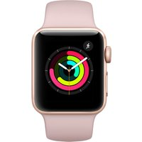 Apple Watch Series 3 - 38mm Gold Aluminium Case With Pink Sand Sport Band - Mqkw2