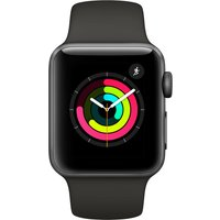Apple Watch Series 3 - 38mm Space Gray Aluminium Case With Gray Sport Band - Mr352