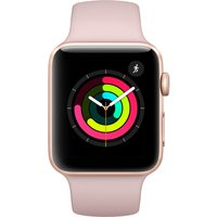 Apple Watch Series 3 - 42mm Gold Aluminium Case With Pink Sand Sport Band - Mql22