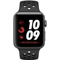 Apple Watch Series 3 Nike+ - 42mm Space Grey Aluminium Case With Anthracite/black Nike Sport Band - Mql42