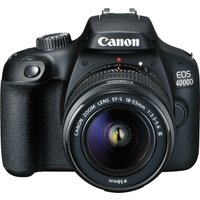 Canon EOS 4000D Kit with 18-55 III Lens Digital SLR Cameras with LP-E10 battery