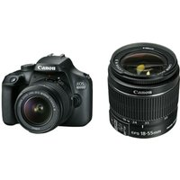 Canon EOS 4000D Kit with 18-55 IS II Lens Digital SLR Cameras - Black
