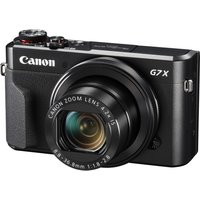 Canon PowerShot G7 X Mark II Compact Digital Camera Black