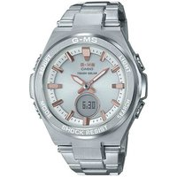 'Casio Baby-g G-ms Msg-s200d-7a Standard Anglog-digital Watch - Silver