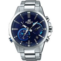 'Casio Edifice Bluetooth Smart Analog Watch Eqb-700d-2a - Silver