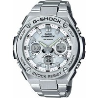 'Casio G-shock Standard Analog-digital Watch Gst-s110d-7a - White Silver