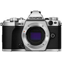 Olympus OM-D E-M5 Mark II Body with 12-40mm f/2.8 Pro Lenses Digital Cameras- Silver