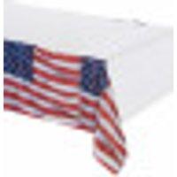 Mantel con la bandera de EE