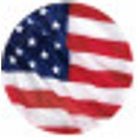 Platos con la bandera de EE