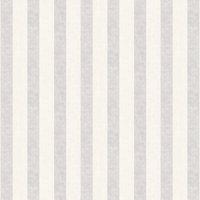 Casadeco Wallpaper Silver Stripe 26380126