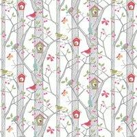 Borastapeter Wallpaper Cherry Friends 6262