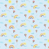 Albany Wallpaper Rainbows and Flying Kites 91022