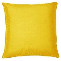 Kandola Cushion Silk Cushion 634 Lemon