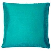 Kandola Cushion Silk Cushion 137 Peacock