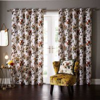 Oasis Ready made curtains Leighton Eyelet Curtains M1113/01/90X72