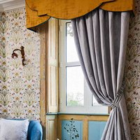 The Chateau by Angel Strawbridge Ready made curtains The Chateau Deco Heron Curtains DEC/GRE/20090TA