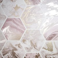 Arthouse Wallpaper Marbled Hex                   908506