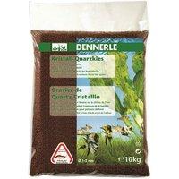Dennerle Quartz Gravel 10kg - Brown/Fawn