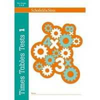 'Times Tables Tests Book 1