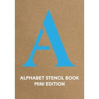 Alphabet Stencil Book Mini Edition