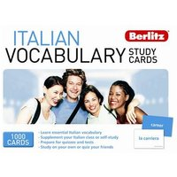 Berlitz Language: Italian Vocabulary Study Cards
