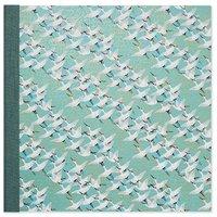 White Cranes Blue Large Photoalbum