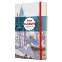 I Am London Ruled Moleskine Notebook