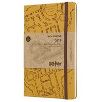 Harry Potter Beige Weekly Large Diary 2019