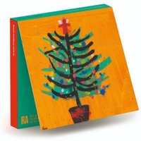 Ra Christmas Tree Wallet - 10 Cards