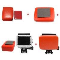 Drijvende Floaty box voor GoPro met anti zink bevestiging voor GoPro HD Hero 1/2/3/3 Plus SJ 4000 AEE