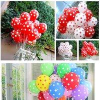 100 Ballonnen Met Stippen