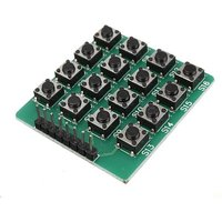 Arduino Matrix Keypad 4x4