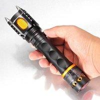 LED Zaklamp XM-L T6 met 2000 Lumens en een Vermogen van 35W met 4 Standen