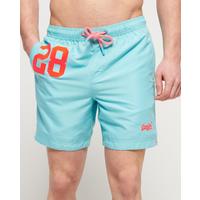 cbf8ac08df7839 Superdry water polo zwemshort voor heren. voorzien van een tailleband met  trekkoord, twee voorzakken
