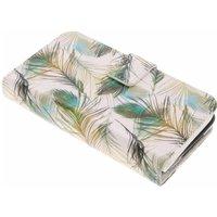 Feathers design TPU portemonnee voor de Samsung Galaxy S5 (Plus)-Neo