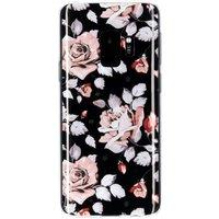 Bloemen design siliconen hoesje voor de Samsung Galaxy S9