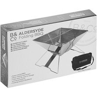 B & Co Aldersyde Folding Bbq