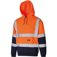 Dickies Mens High Visibility Two Tone Hoodie