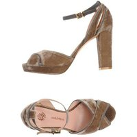 MALÌPARMI FOOTWEAR Sandals Women on YOOX.COM Khaki