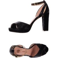 MALÌPARMI FOOTWEAR Sandals Women on YOOX.COM Black