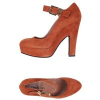 TWIN-SET Simona Barbieri FOOTWEAR Courts Women on YOOX.COM Rust